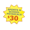 Sports and School Physicals